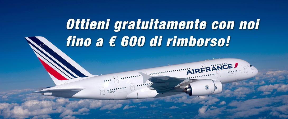 Rimborso Ritardo Volo Air France