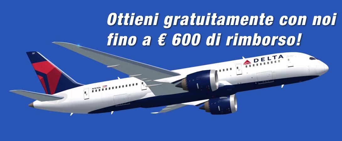 Rimborso Ritardo Volo Delta Airlines