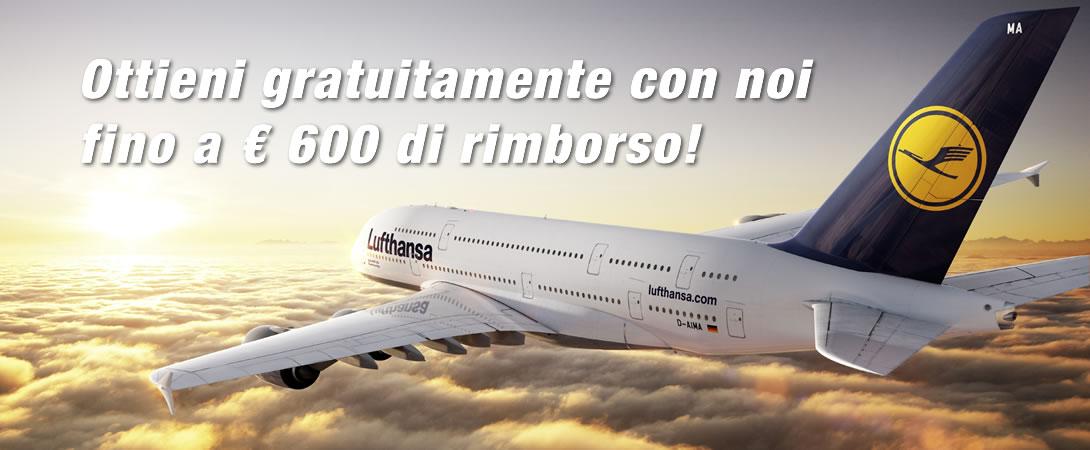 Rimborso Ritardo Volo Lufthansa