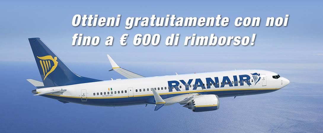Rimborso Ritardo Volo Ryan Air